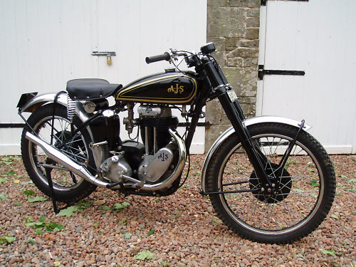 1950 ajs 18c competition 1