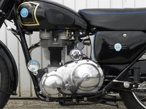 1958 ajs 16ms 350cc engine