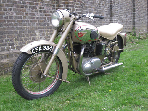 1954 bsa a10 650 golden flash 1