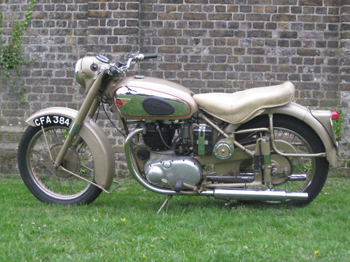 1954 bsa a10 650 golden flash 2
