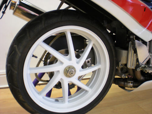 1988 honda vfr750r-j rc30 rear wheel