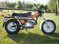 124 1978 suzuki rv125b sand bike icon
