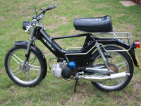 160 1986 puch maxi sport special silver icon