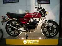 164 1983 yamaha rd 200 dx iconic air cooled twin 195cc icon