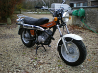 2 1978 suzuki rv125b sand bike icon