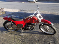 273 1973 rickman montesa 250cc ex-museum very clean running and powerful icon