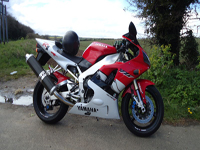 305 1999 yamaha yzf-r1 white icon