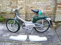 404 1965 Raleigh RM6 Runabout 49cc Moped Icon
