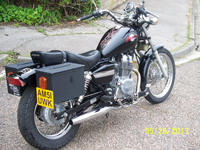 408 2002 Honda Rebel 250cc Icon