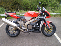 448 2003 Aprilia RSV Tuono Fighter Icon