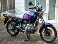 452 1993 Amethyst BMW R100R Icon