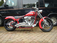 471 2002 Customised Harley-Davidson FXST Softail Icon