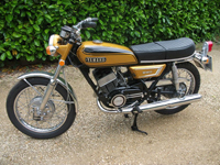 485 1972 Yamaha YDS7 Icon
