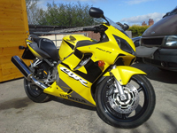 558 2001 Honda CBR600F Yellow Icon