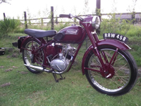 580 1955 Triumph Terrier Icon