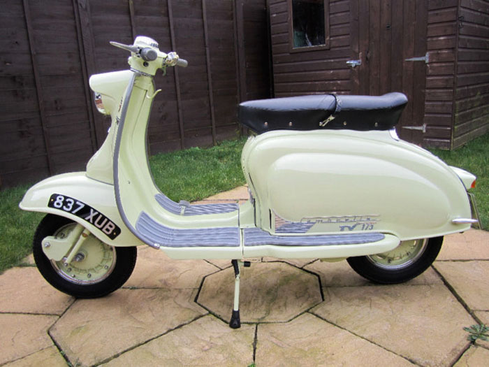 1958 tv175 series 1 lambretta innocenti 1