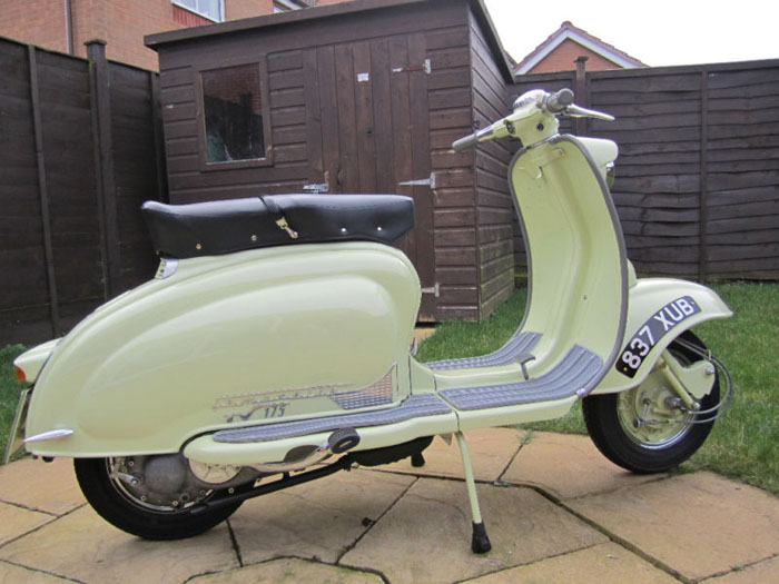 1958 tv175 series 1 lambretta innocenti 2